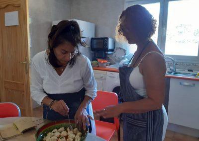 Taller de cocina ayurveda con Donata Medina